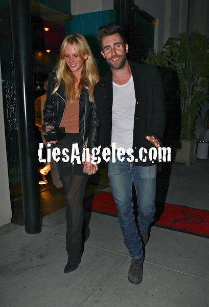 adam levine girlfriend